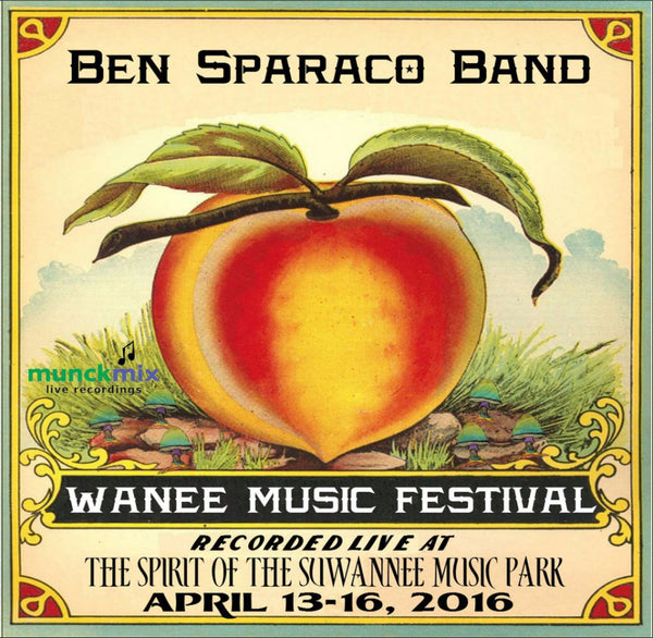 Ben Sparaco Band - Live at 2016 Wanee Music Festival