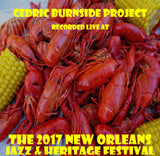 Cedric Burnside Project - Live at 2017 New Orleans Jazz & Heritage Festival