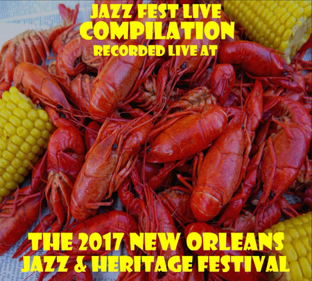 Jesse McBride Big Band - Live at 2017 New Orleans Jazz & Heritage Festival