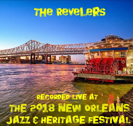 Delgado Community College Jazz Ensemble - Live at 2018 New Orleans Jazz & Heritage Festival