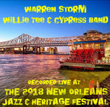 Warren Storm - Willie Tee & Cypress Band with guests T.K. Hulin and Gregg Martinez - Live at 2018 New Orleans Jazz & Heritage Festival