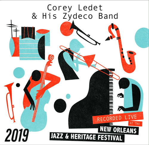 Corey Ledet & His Zydeco Band - Live at 2019 New Orleans Jazz & Heritage Festival