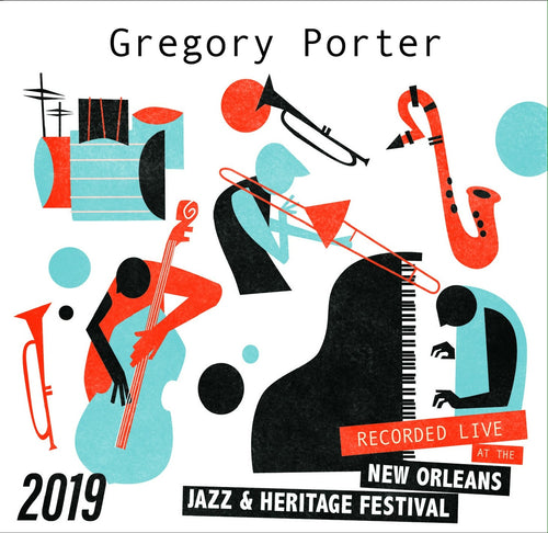 Gregory Porter - Live at 2019 New Orleans Jazz & Heritage Festival
