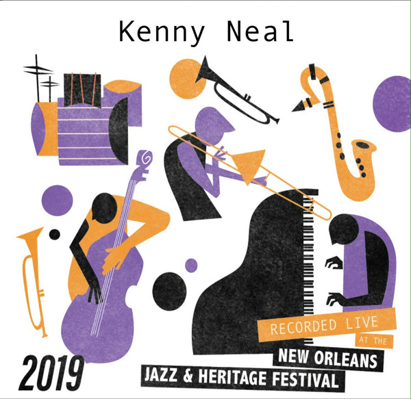 Kenny Neal with guest Henry Gray - Live at 2019 New Orleans Jazz & Heritage Festival