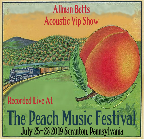 Allman Betts Acoustic VIP show - Live at The 2019 Peach Music Festival