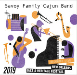Savoy Family Cajun Band - Live at 2019 New Orleans Jazz & Heritage Festival