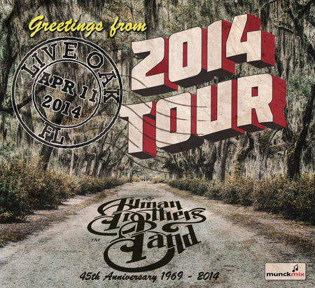 The Allman Brothers Band: 2013-08-24 Live at Comcast Theatre, Hartford, CT, August 24, 2013