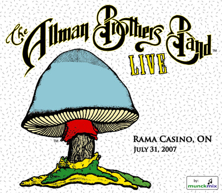 The Allman Brothers Band: 2007-08-21 Live at Nikon At Jones Beach Theater, Wantagh NY, August 21, 2007
