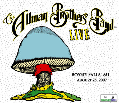 The Allman Brothers Band: 2007-08-18 Live at Mountain Laurel Center, Bushkill PA, August 18, 2007