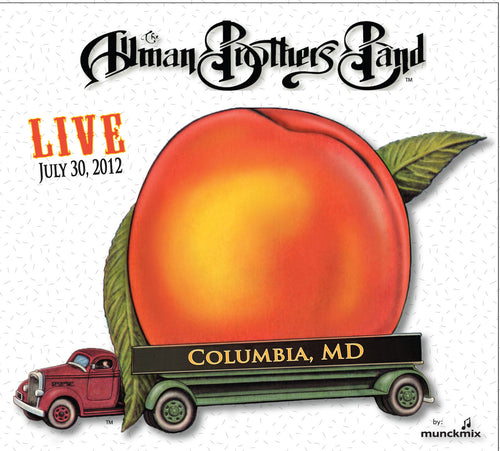 The Allman Brothers Band: 2012-07-30 Live at Columbia, MD, Columbia, MD, July 30, 2012