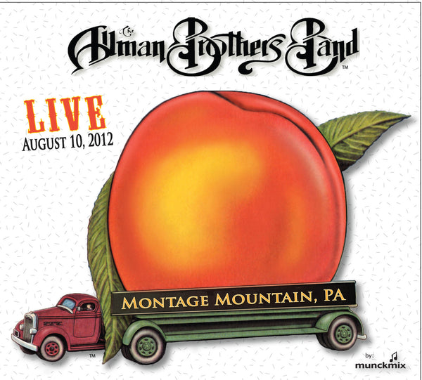 The Allman Brothers Band: 2012-08-10 Live at Peach Music Festival, Scranton, PA, August 10, 2012