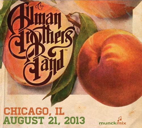 The Allman Brothers Band: 2013-08-21 Live at Chicago Theatre, Chicago, IL, August 21, 2013