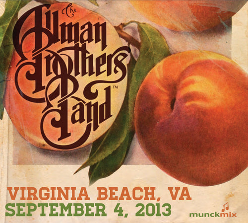 The Allman Brothers Band: 2013-09-04 Live at Farm Bureau Live, Virginia Beach, VA, September 04, 2013