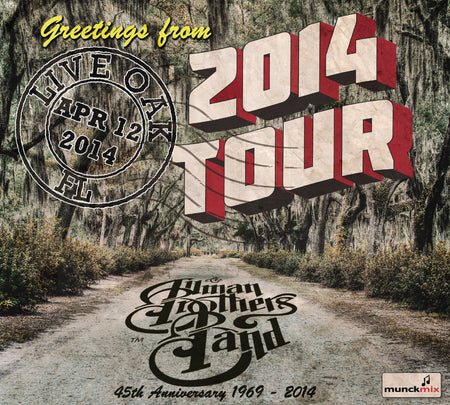 The Allman Brothers Band: 2014-08-17 Live at Peach Music Festival, Montage Mountain, PA, August 17, 2014