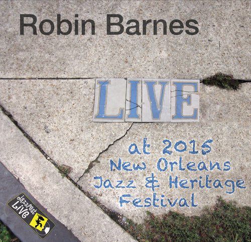 Robin Barnes - Live at 2015 New Orleans Jazz & Heritage Festival