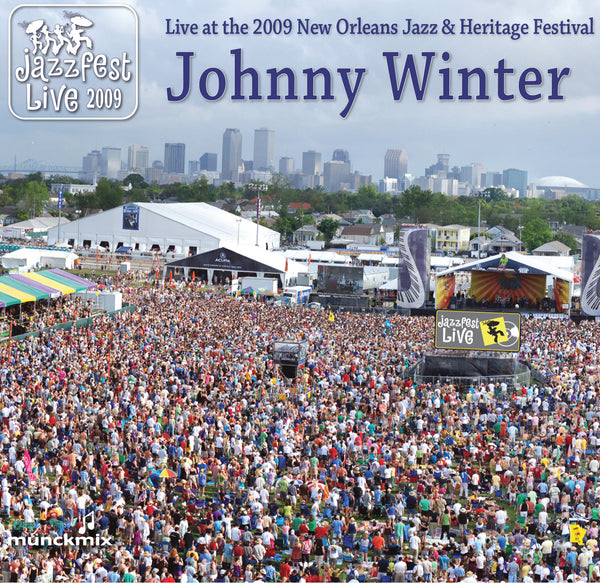 Johnny Winter - Live at 2009 New Orleans Jazz & Heritage Festival
