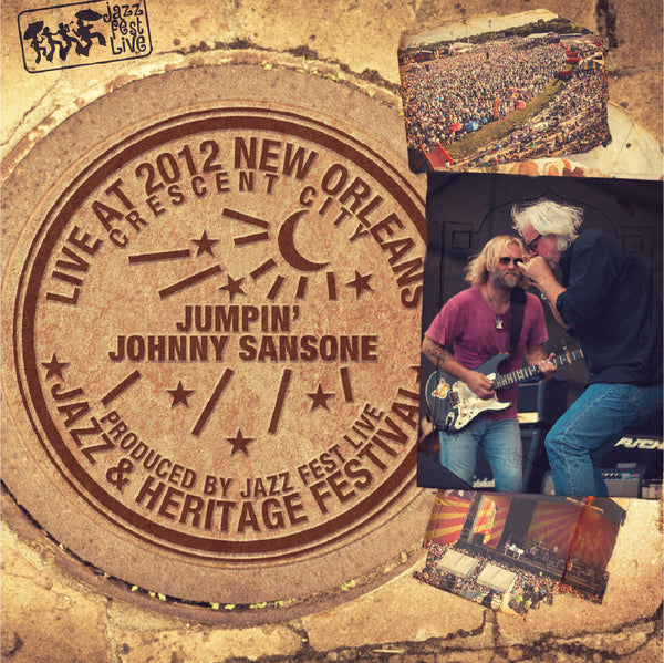 Jumpin' Johnny Sansone - Live at 2012 New Orleans Jazz & Heritage Festival