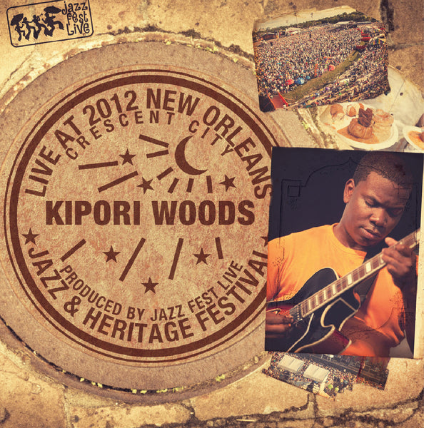 Kipori Woods - Live at 2012 New Orleans Jazz & Heritage Festival