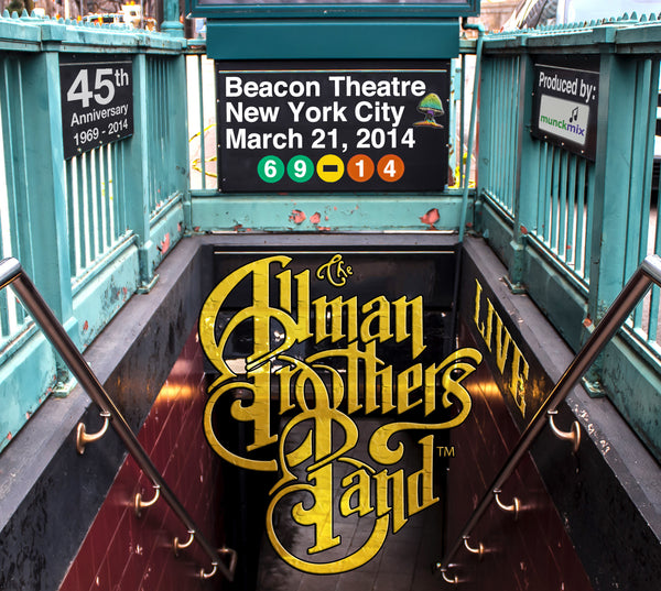 The Allman Brothers Band: 2014-03-21 Live at Beacon Theatre, New York, NY, March 21, 2014