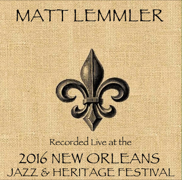 "Matt Lemmier ""The Music of Stevie Wonder"" featuring Brian Blades - Live at 2016 New Orleans Jazz & Heritage Festival"