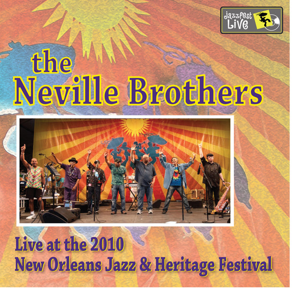 The Neville Brothers - Live at 2010 New Orleans Jazz & Heritage Festival