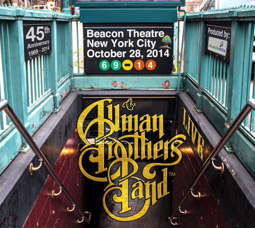 Holiday Savings! - The Allman Brothers Band: 2014-10-28 Live at Beacon Theatre, New York, NY, October 28, 2014