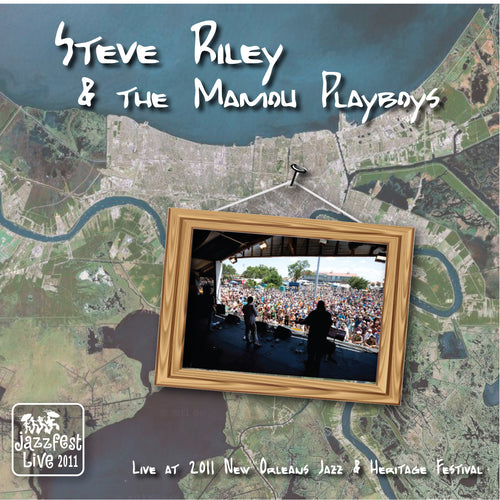 Steve Riley & The Mamou Playboys - Live at 2011 New Orleans Jazz & Heritage Festival
