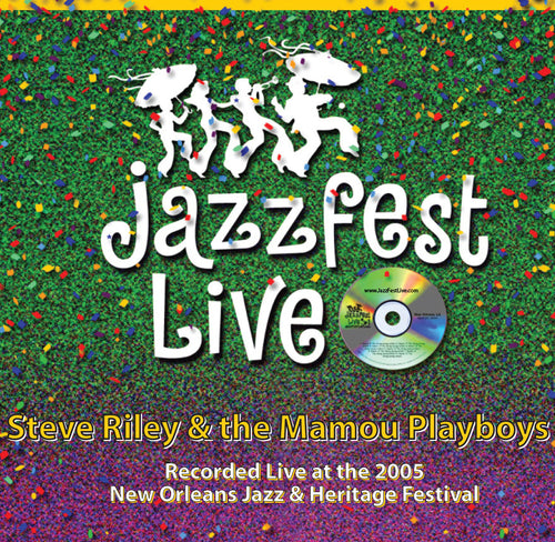 Steve Riley & The Mamou Playboys - Live at 2005 New Orleans Jazz & Heritage Festival