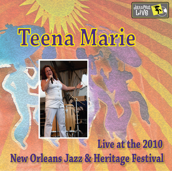 Teena Marie - Live at 2010 New Orleans Jazz & Heritage Festival