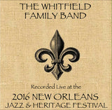 Whitfield Family Band - Live at 2016 New Orleans Jazz & Heritage Festival