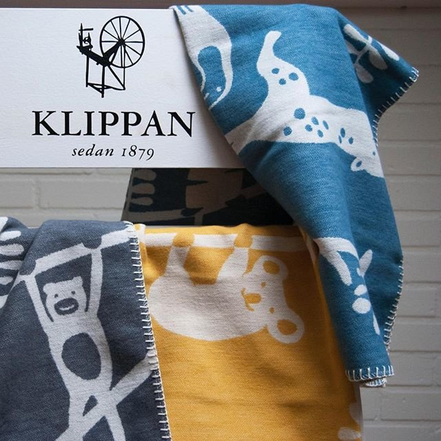 Klippan wiegdeken brushed cotton Siesta grijs
