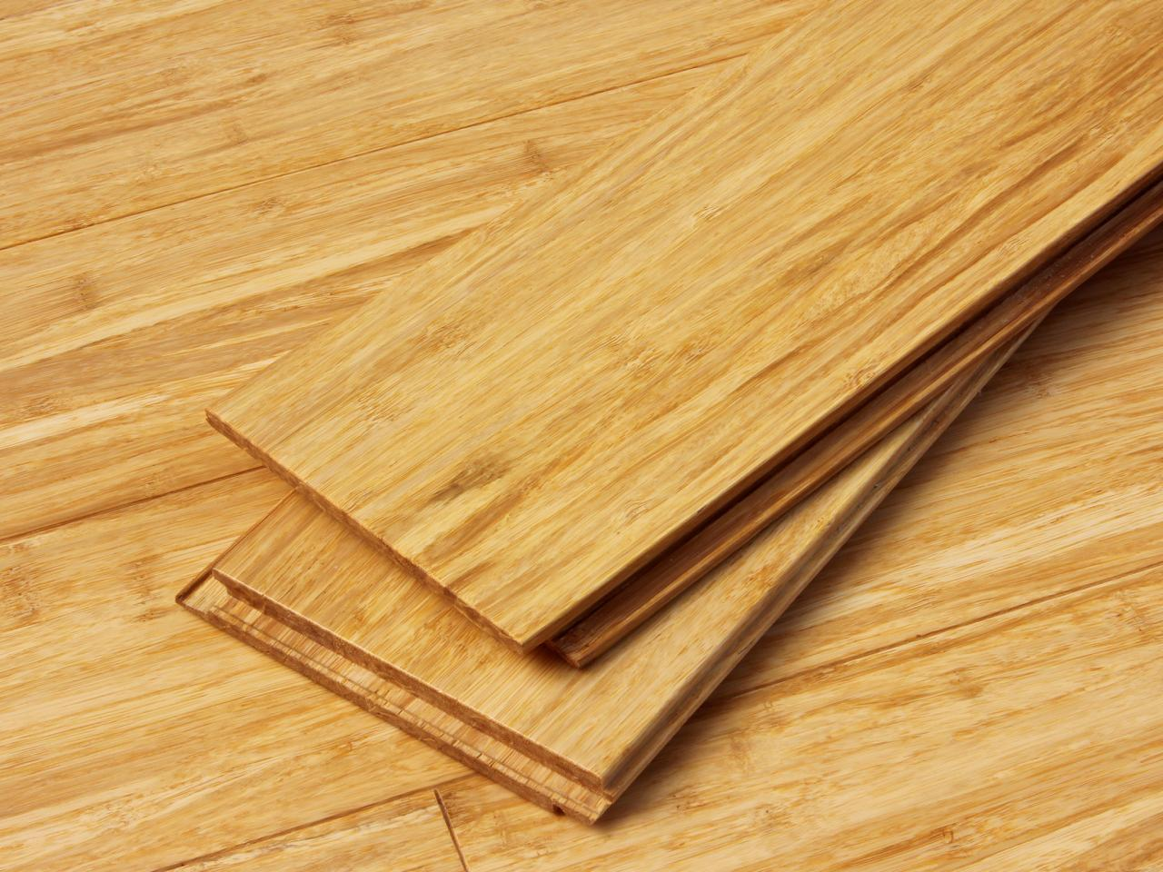 Bamboo Flooring - The Doodle House