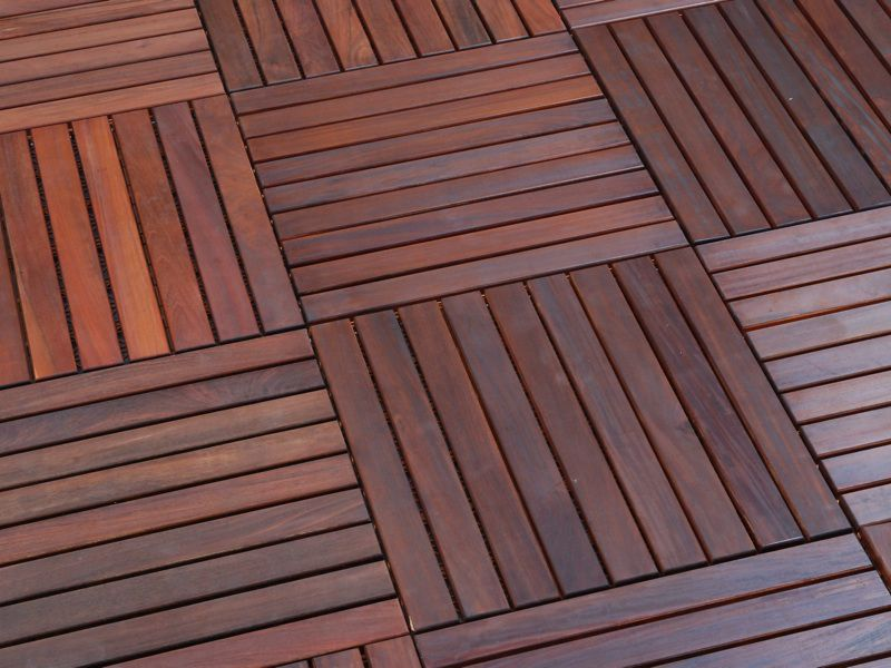 Composite Wooden Flooring - The Doodle House