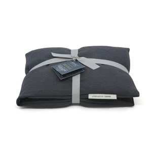 Heat Pillow - Luxe Linen Charcoal