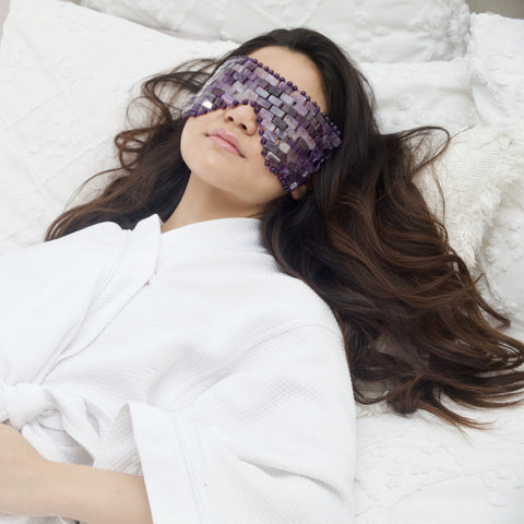Amethyst Eye Mask