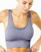 Mesh Seamless Set - Grey Purple