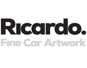 Ricardo. Fine Car ArtWork