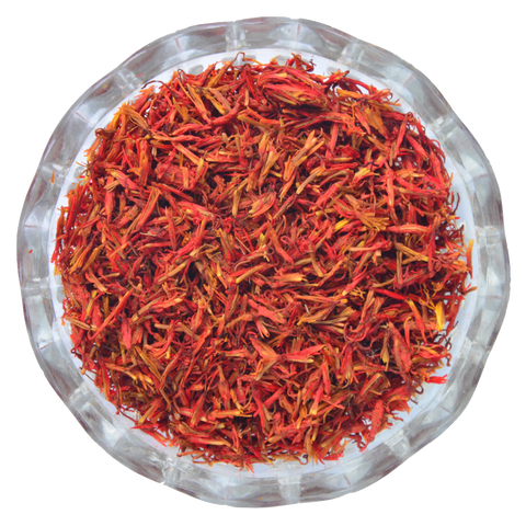 SAFFLOWER DRIED