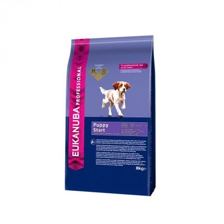 Eukanuba Professional Puppy Start 8Kg - Petdesign.fr PetDesign shop Nutrition pour chien en France, produit de haute qualité