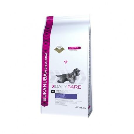 Eukanuba Daily Care - Sensitive skin 16.5 kg - Petdesign.fr PetDesign shop Nutrition pour chien en France, produit de haute qualité