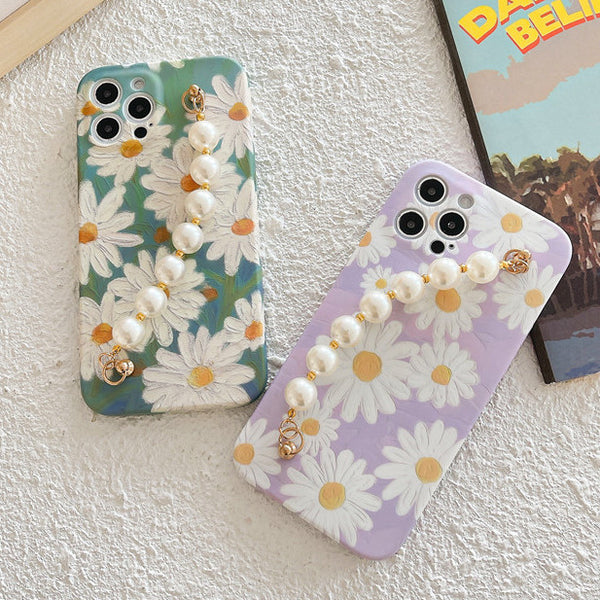 pearl chain flower case myl505