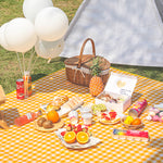 gingham check picnic sheet myl320