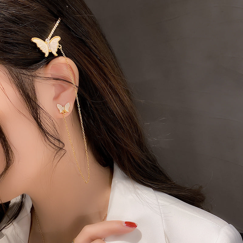 butterfly hairpin pierce myl161