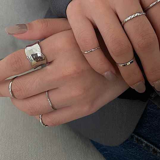 simple layering ring set myl407