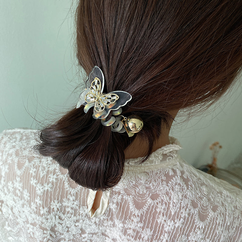 butterfly hair rope myl166
