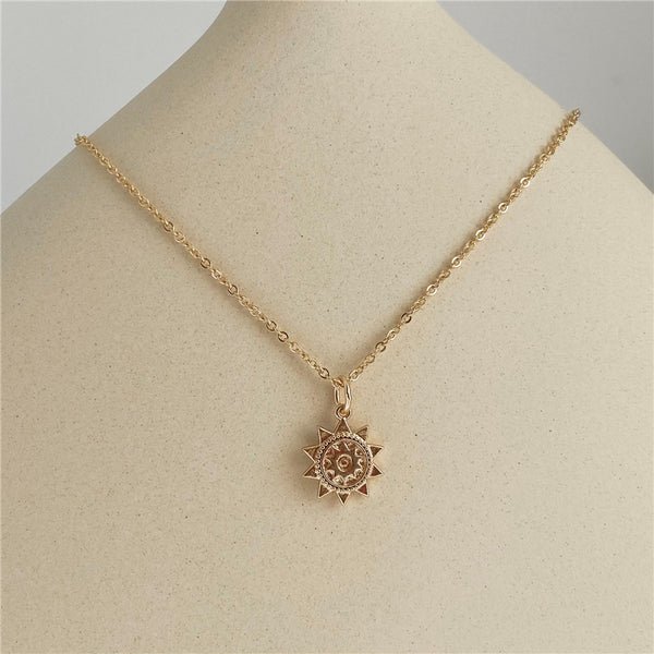 sunshine charm necklace myl395