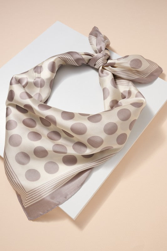 Pretty in Polka Dots Hair Scarf