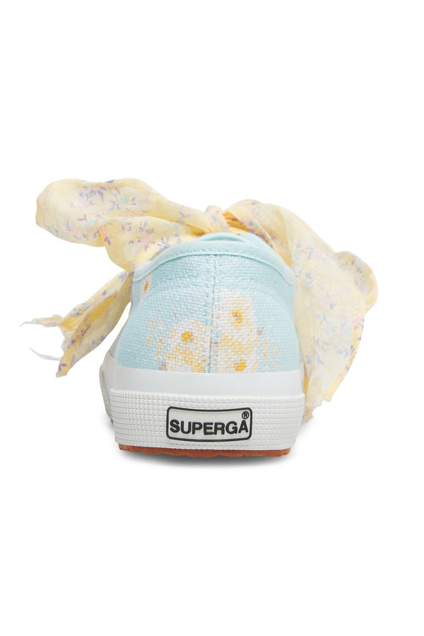 Superga x LoveShackFancy Women's Classic Sneaker - Blue Bird