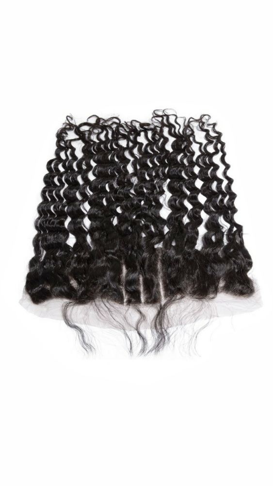 Deep Curly frontal (lace )