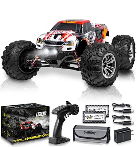 LAEGENDARY RC Electric 4x4 Off Road Monster Truck